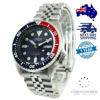 SEIKO PEPSI JAPAN SKX009J SKX009J2 Stainless Steel Automatic Mens Divers Watch