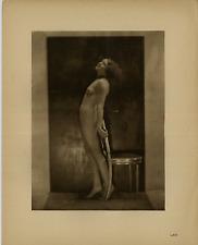 Nu, Laryew 1934, héliogravure originale vintage heliogravure 1934 Héliogravure