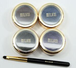 Milani FIERCE FOIL Eyeliner Pencils-Brown Foil-03 & Navy Foil-04-NEW -Choose One
