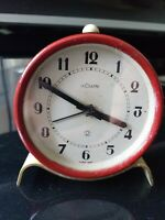 Antique 1930s Lecoultre Art Deco Alarm clock in  Excellent condition and working