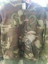 Faded Glory Size 8 Zip Up Hoodie