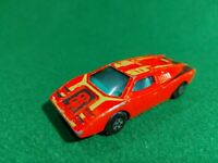 Matchbox Lesney Superfast No 27 Lamborghini Countach Rare brown base Streaker