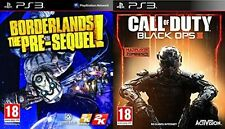 CALL OF DUTY BLACK OPS 3 & BORDERLANDS THE PRE-SEQUEL   NEW&SEALED  PS3  PAL