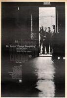 "6/6/92Pgn25 DEL AMITRI : CHANGE EVERYTHING ALBUM/TOUR ADVERT 15X11"""