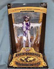 WWE Mattel Elite Defining Moments Macho Man Randy Savage Figure, Flashback, WWF