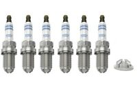 Spark Plugs x 6 Bosch Platinum For BMW 3 / 5 / 7 Series E34 36 39 60 X3 X5 Z3 Z4