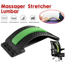 Magic Back Support Stretcher Pain Relief Spine Posture Corrector Massager Lumbar