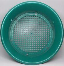 "New Patent MARTIN 14"" Interchangeable Gold Pan Classifier 3/8 Holes Mesh"