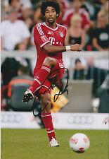 DANTE Signed Autograph Photo AFTAL COA Bayern Munich BRAZIL Champions League