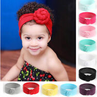 Fashion Toddler Girls Baby Kids Big Bow Headband Hairband Turban Knot Head Wrap