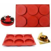 24 Cup Silicone Mini Muffin Bun Cupcake Baking Bakeware Mould Tray Pan Kitc U5B8