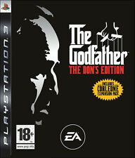 THE GODFATHER DONS EDITION PS3 PlayStation 3 Video Game Original UK Rele Sealed