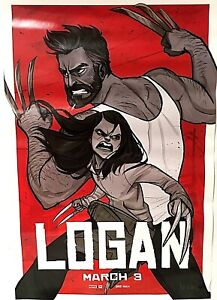 LOGAN Limited Edition Movie Poster Comic Graphic Art By Babs Tarr Wolverine X-23