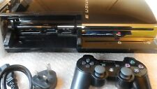 ORIGINAL Sony PlayStation 3 60GB PS3 60GB Model CECHC03, Plays PS2 and PS1 Games