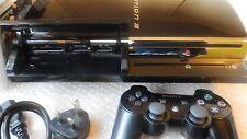 Original Sony Playstation 3 60GB PS3 60GB Modell CECHC 03 spielt PS2 & PS1 Spiele