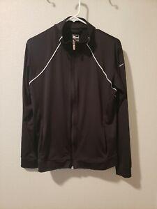 Nike Performance Women's Size XL Black Athletic Zip Up Track Jacket