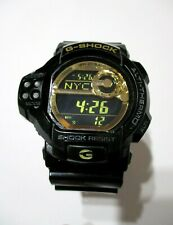 *SCARCE* CASIO G-SHOCK GDF-100GB Limited Black Gold Twin Sensors WRIST WATCH