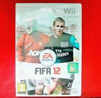 FIFA 12 - ( NINTENDO Wii ) - INCLUDES MANUAL - PAL - VGC - 2011
