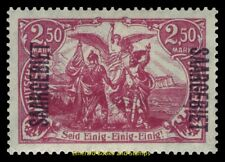 EBS Germany Saargebiet 1920 Germania - Berlin Post Office - Michel 43 MNH**