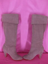 Colin Stuart Victoria Secret Knee High Boots Size 5 Suede Lilac