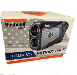 Bushnell 2020 Tour V5 Laser Rangefinder Tournament Legal BITE MAGNET w/ Case!