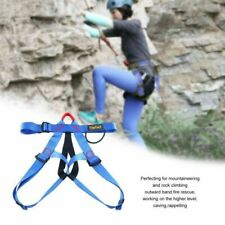 YaeCcc Outdoor Rock Climbing Harness Safety Harness Half Body Protect Belt