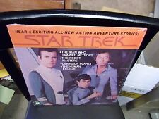 Star Trek Hear 4 Exciting Action Adventure Stories LP Peter Pan Records Sealed