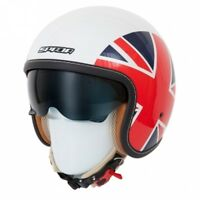 SPADA RAZE UNION JACK Open Face Scooter/Vespa/Chopper Helmet