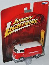 Forever 64 R19 - 1965 VW TRANSPORTER *Corpo De Bombeiros* 1:64 Johnny Lightning