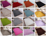 Small Large Size 5cm Thick Plain Soft Shaggy Living Room Rug Bedroom Floor Rugs