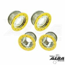 LTR 450 LTZ 400  Front  Rear Wheels  Beadlock 10x5  9x8  Alba Racing  sl yl  41