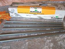 5 Stück DURABLE Klemmschienen A4 3 mm bis 30 Blatt - zum Abheften ohne Lochung