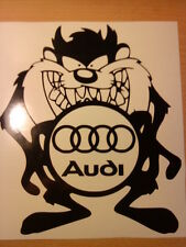 fun audi rings logo vinyl car sticker graphics decals funny novelty 7x6 inches