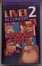 reuven a stone's TORAH TOTS LIVE IN CONCERT 2   VHS VIDEOTAPE