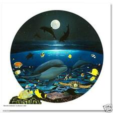 """WYLAND """"MOONLIGHT CELEBRATION"""" S/N GICLEE ON CANVAS w/Certificate of Authenticit"""
