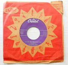 JOHNNY OTIS 45 Willie Did the Cha Cha CAPITOL Rock 'n' Roll VG++ #B807