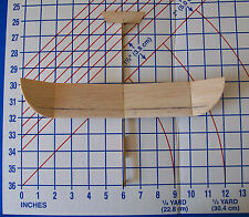 Michigan Condor 1/2 Pint Balsa glider  hand or catapult launch kit competition