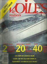 VOILES ET VOILIERS N°215 / JANVIER 1989 /  #CKDB