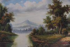Acrylic Realism European Art Paintings