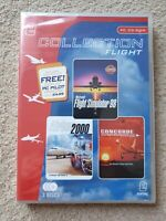 Collection Flight 3 FLIGHT SIMULATOR 3 TITLES PACK PC CD-ROM GAMES  NEW Sealed