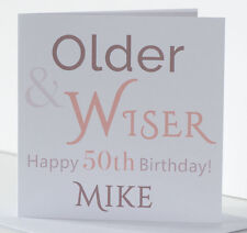 Birthday Card for Grandson Godson Nephew 18th 21st 30th 40th 50th Personalised