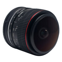 Meike 6.5mm F2.0 Fisheye Lens Super Wide Angle Manual Focus Lens for Nikon 1