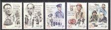 Singapore stamps - 2017 NS50 LKY & Goh KS set of 5v MNH army