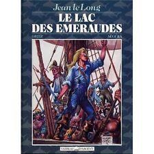 LE LAC DES ÉMERAUDES - Les aventures de JEAN LELONG - par José ORTIZ