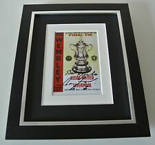 Ron Yeats SIGNED 10x8 FRAMED Photo Autograph Display Liverpool 1965 FA Cup & COA