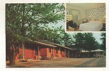 Twin Pines Court Motel INDIANA PA Vintage County Pennsylvania Postcard