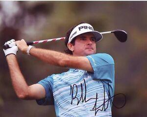 BUBBA WATSON Signed Autographed PGA GOLF Photo