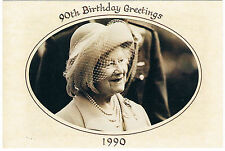 Postcard - The Queen Mother's 90th Birthday, Glamis Castle (PH Topics card)