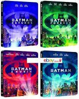 BATMAN COLLEZIONE 4K STEELBOOK 4 BOX (8 BLU-RAY) Seleziona Il Tuo Box