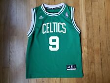 Boston Celtics Rajon Rondo Green Adidas NBA Jersey Boy's Size M